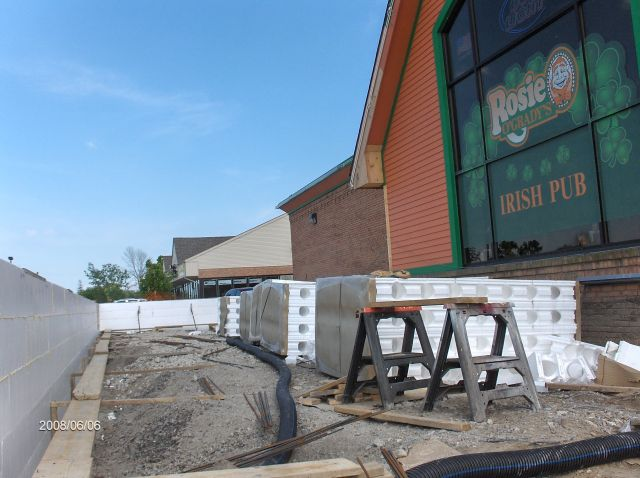 Rosie-O-Gradys-Building-Addition_Installing-ICF-Walls-To-Window-Sill-Level-Project-RosO1-101-Picture-1