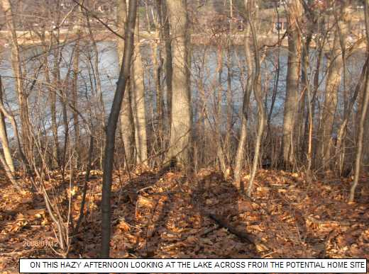 Looking-At-The-Wooded-Lake-Front-Lot-AS-Potential-Home-Site--BenK1-101-Picture-1