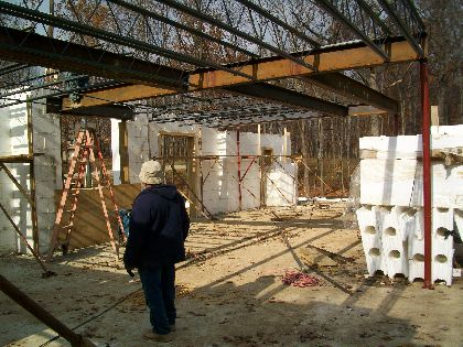Second-Floor-Steel-And-Open-Web-Joists-New-ICF-House-In-Ann-Arbor-Michigan-EneE1-AttM1-101-Picture-2