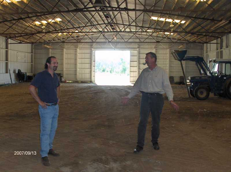 Existing-Pole-Barn-in-Rochester-Hills-Michigan-to-be-Relocated-in-Ira-Twp-Michigan-Picture-1