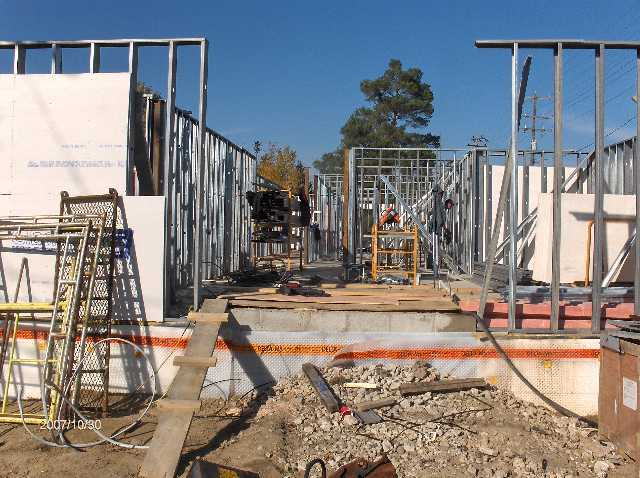 Angelicas-Place-Assisted-Living-in-Romeo-Michigan_Steel-Stud-Walls-Above-First-Floor-Picture-2