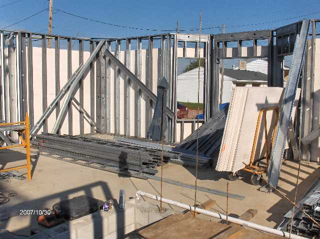 Angelicas-Place-Assisted-Living-in-Romeo-Michigan_Steel-Stud-Walls-Above-First-Floor-Picture-4