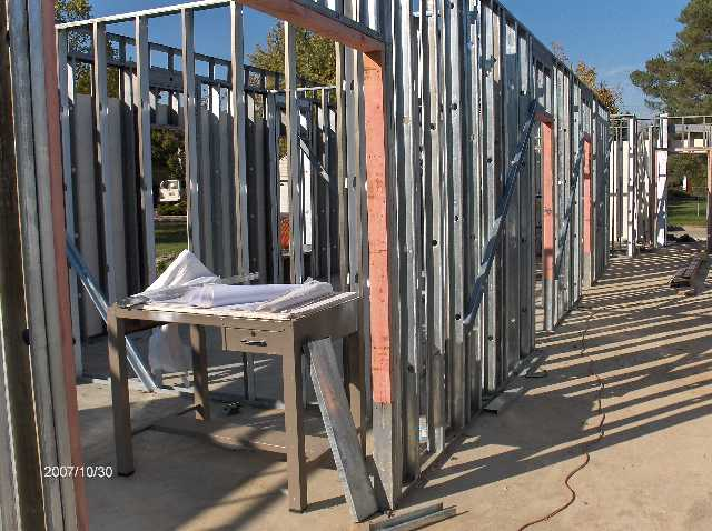 Angelicas-Place-Assisted-Living-in-Romeo-Michigan_Steel-Stud-Walls-Above-First-Floor-Picture-5