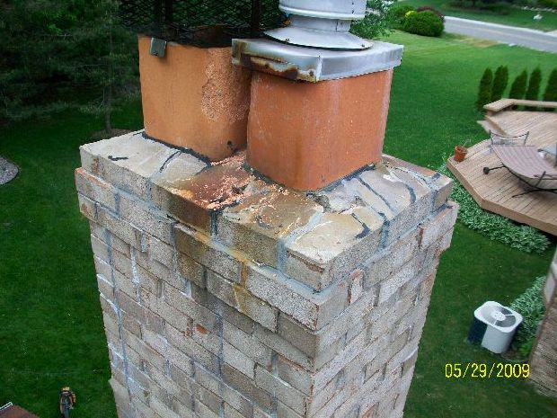 Fix-For-Water-Leak-In-Basement-Leads-To-Repair-Of-FirePlace-Cap-And-Flashing-ParR1-102-Picture-1