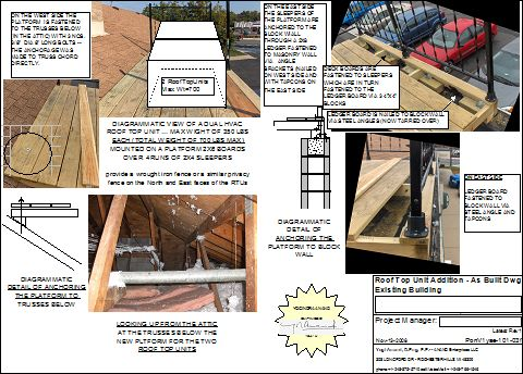 Installing-HVAC-Units-On-Roof-Of-An-Existing-Building-Part3-As-Built-Drawing-PonV1-101-Picture-1
