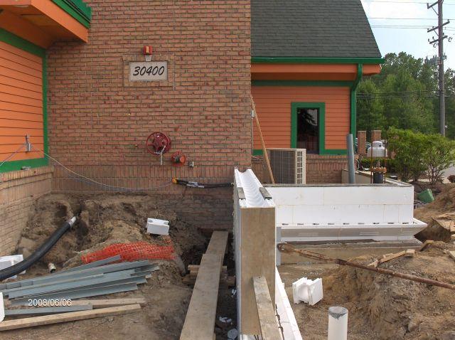 Rosie O Gradys Building Addition Installing Icf Walls To