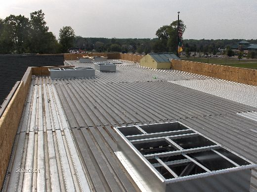 Rosie-O-Gradys_Prep-Work-For-Installation-Of-Roof-Top-Units-RosO1-101-Picture-4