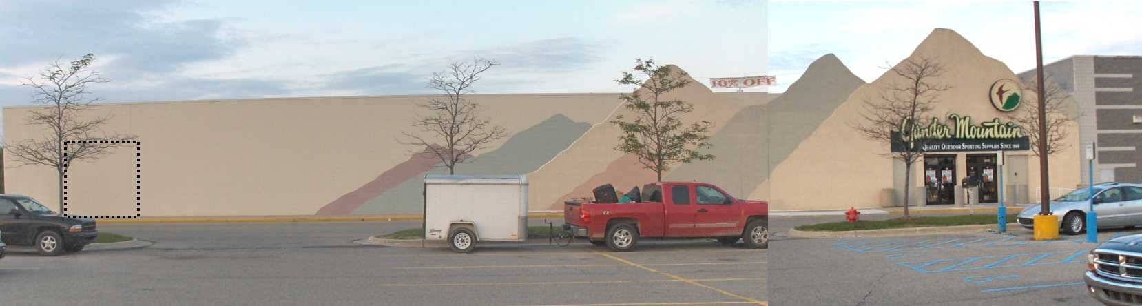 Gander-Mountain-Store-Summit-Mall-Waterford-Michigan-Door-Addition-Project-Picture-1