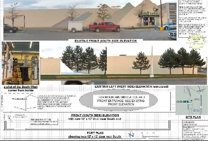 Gander-Mountain-Store-Summit-Mall-Waterford-Michigan-Door-Addition-Project-2-Picture-1