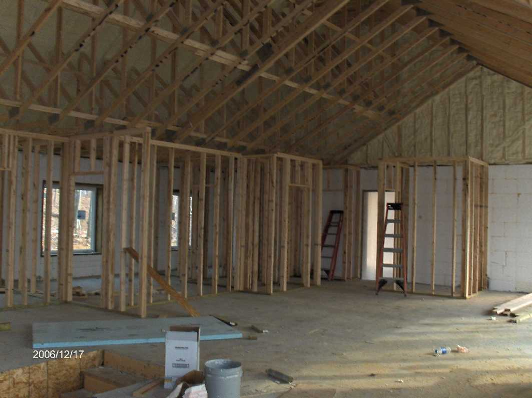framing-of-interior-stud-walls-2_for-Stehr-House-in-Highland-Twp ...
