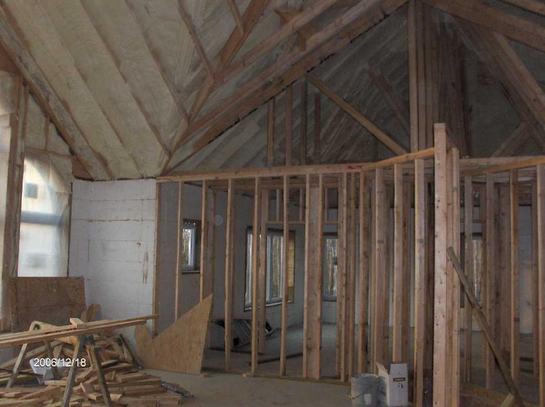 Interior wall framing for House framing 101