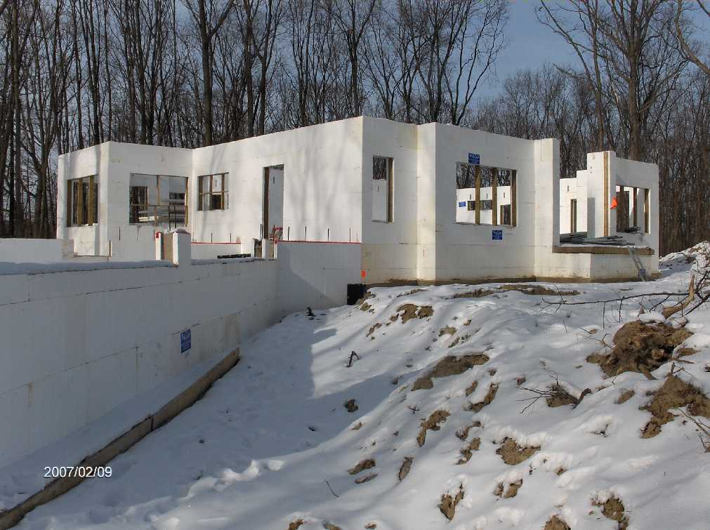 Barbara And Allen Stewart New Icf House At 5163 Oak Ravine Ct In Northfield Twp Michigan