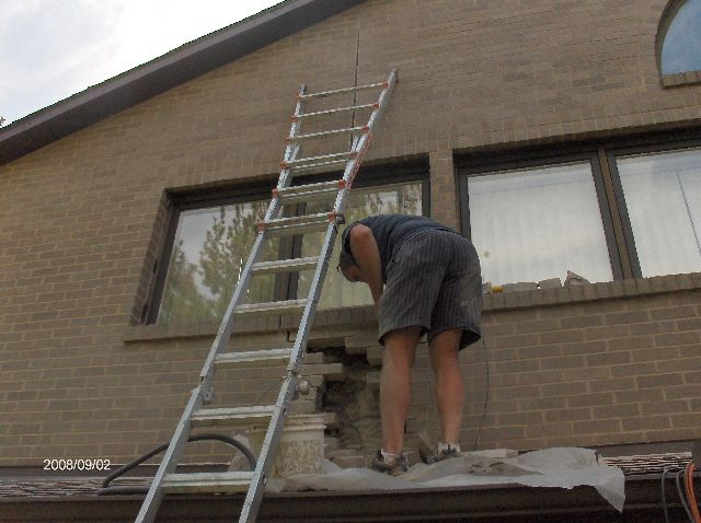 Fixing-Broken-Face-Bricks-In-Existing-House-In-Southeastern-Michigan-Picture-2