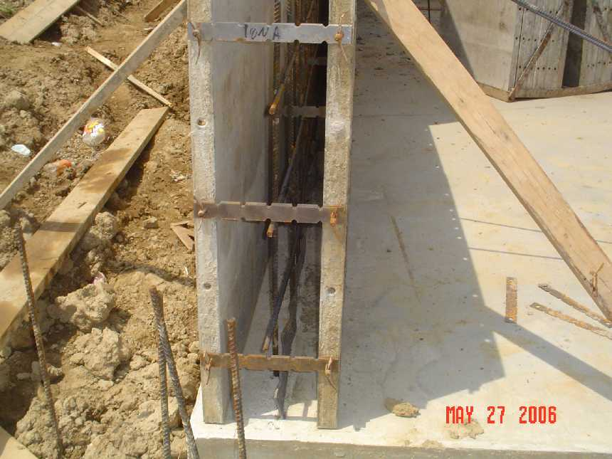 new-home-project -- concrete placement readiness for basement walls  -- picture 2