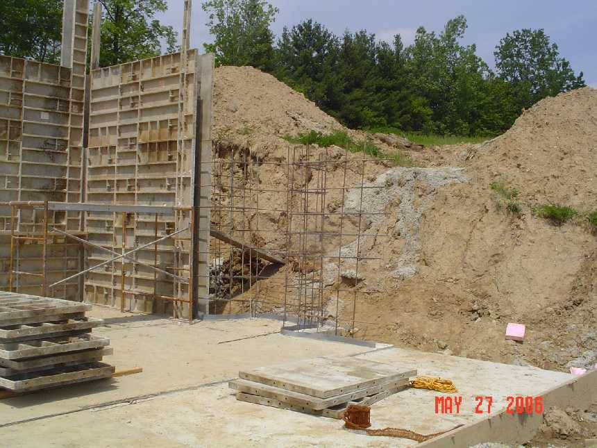 new-home-project -- concrete placement readiness for basement slab -- picture 3