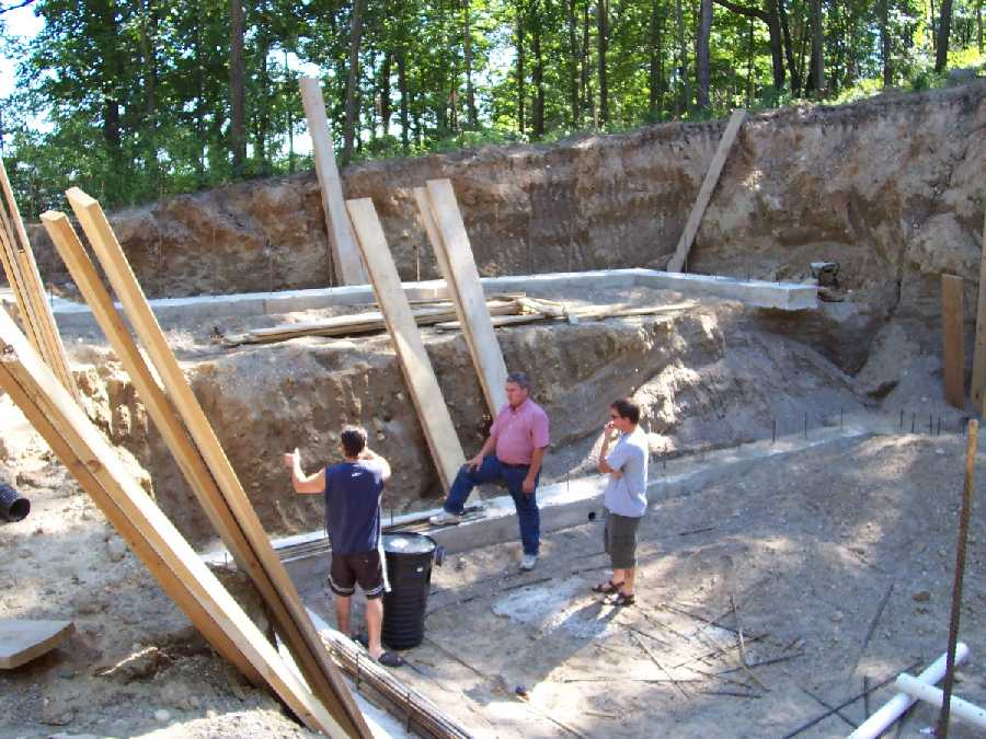 ICF-home-project-tall-basement-walls  -- picture 1