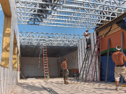 Rosie-O-Gradys_Completing-Installation-Of-Second-Floor-Load-Bearing-Walls-And-Roof-Joists-RosO1-101-Picture-3