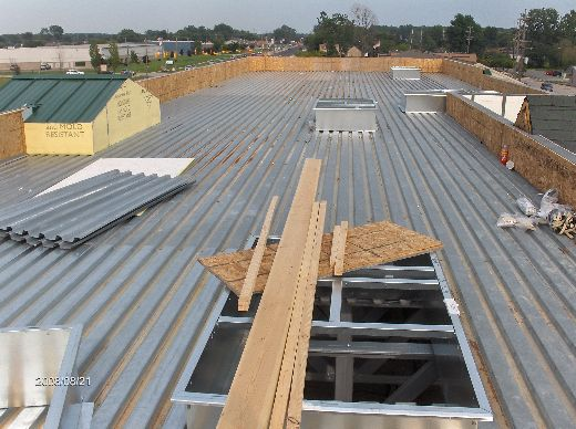 Rosie-O-Gradys_Prep-Work-For-Installation-Of-Roof-Top-Units-RosO1-101-Picture-1